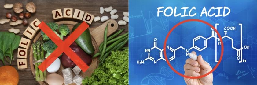 天然葉酸と合成葉酸